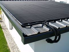 Solar-rapid pool heating: especially designed for do-it-yourself enthusiasts