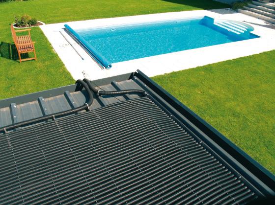 Verwarming zwembad zonne energie